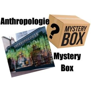 Anthropologie Mystery Box! Reseller Box 5 Items